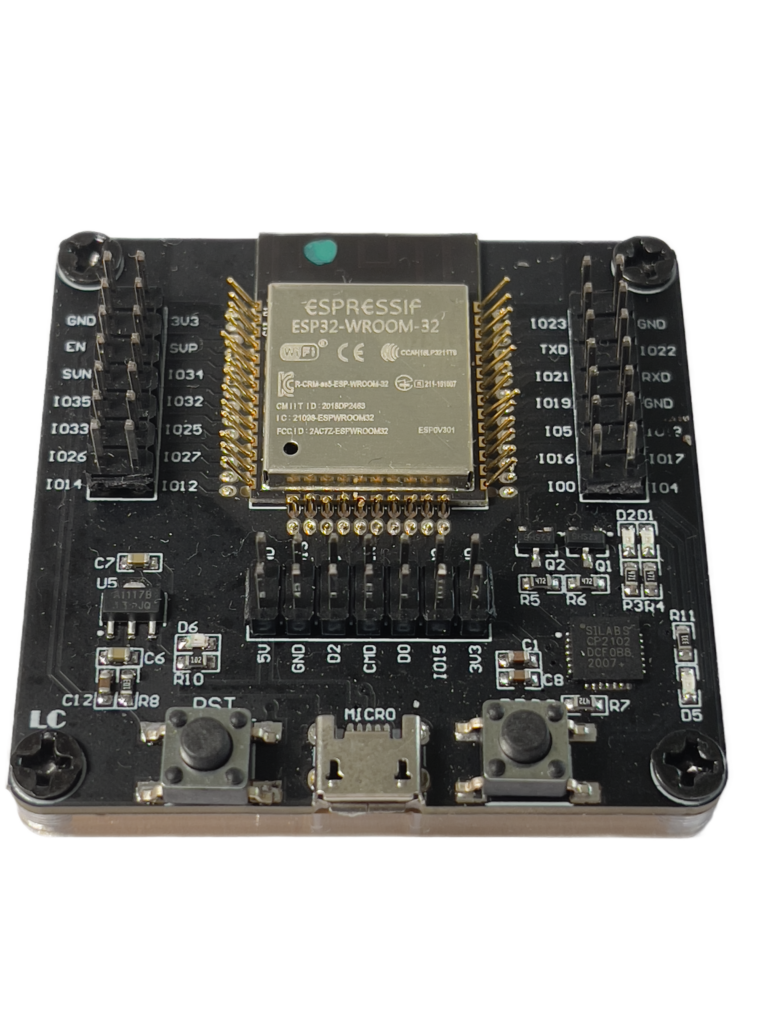 ESP32 Chip Programmer and Tester