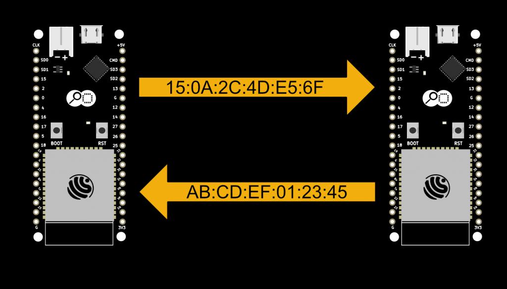 ESP-Now Static Pairing Diagram