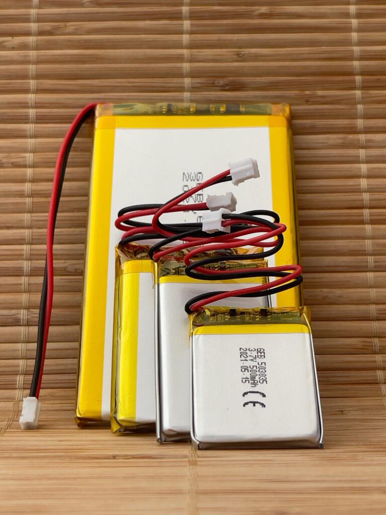 Lithium Polymer. Batteries