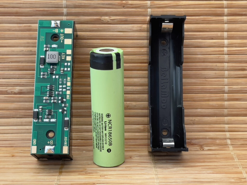 Lithium Battery with Battery Compartment