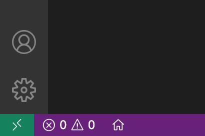 Visual Studio Code - PlatformIO - Bottom-left Corner