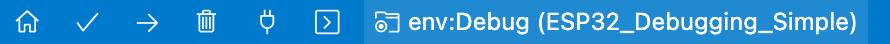 PlatformIO - Status Bar - Build Configuration